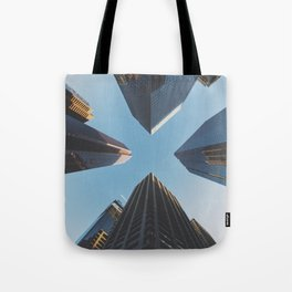 NYC Skyscrape Tote Bag