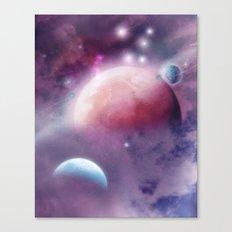 Pink Space Dream Canvas Print