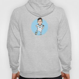 Best football player of the world: MESSI! Hoody