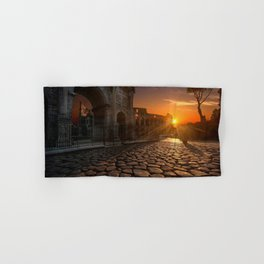 Arch of Constantine, Rome, Italy. Hand & Bath Towel