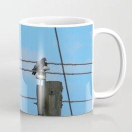Pigeons on a Wire Coffee Mug