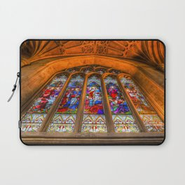 Stained Glass Abbey Window Laptop Sleeve
