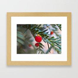 Last Christmas Framed Art Print
