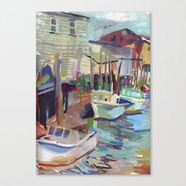 Portland Harbor Canvas Print