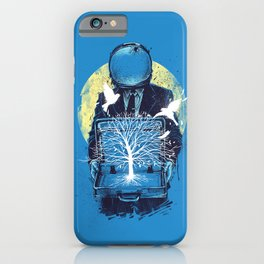 A new life iPhone Case