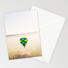 Balloons Over Napa Stationery Cards