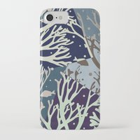 under the sea iPhone & iPod Cases featuring Under the Sea - Abstract by Paula Belle Flores