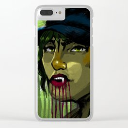 Vampy Clear iPhone Case