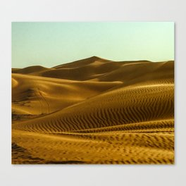 Shifting Sands Canvas Print