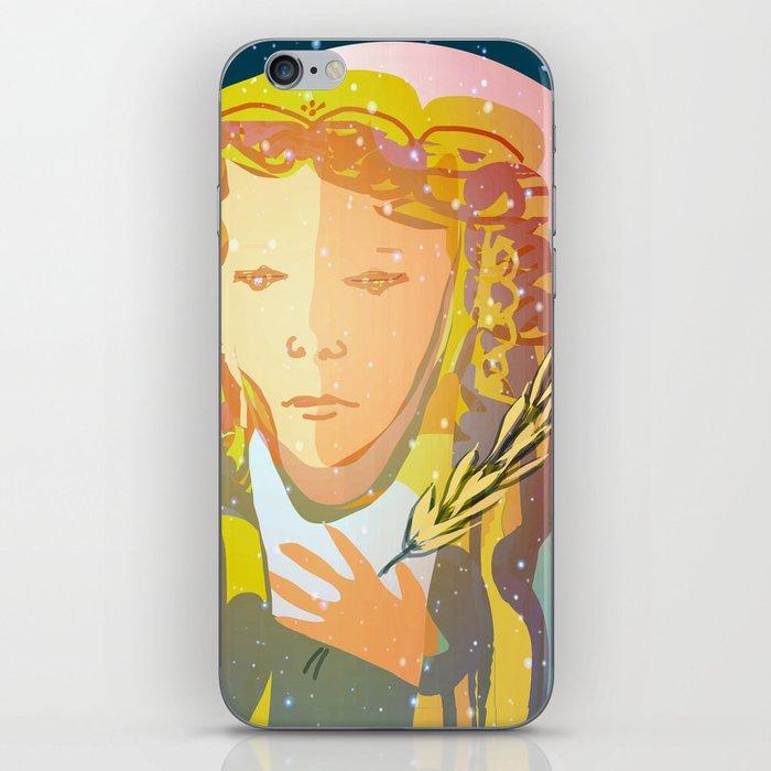 Virgo The Virgin / Zodiac iPhone Skin