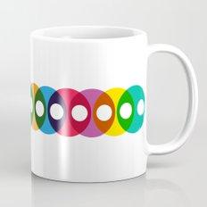 Geometric bubbles Mug
