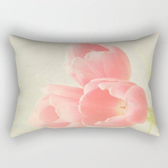 Beauty in Three Rectangular Pillow