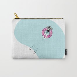 Girl in Pool Carry-All Pouch
