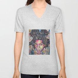 Basquiat Unisex V-Neck