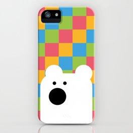 Zedl Ico Bear iPhone Case