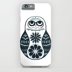 Flower Owl Matryoshka - Steel Slim Case iPhone 6s