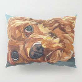 Newton the Lounging Cocker Spaniel Pillow Sham