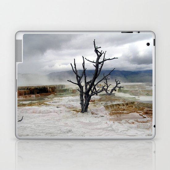 Yellowstone National Park - Hot Springs Laptop & iPad Skin