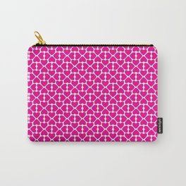 Pink Trefoil Carry-All Pouch