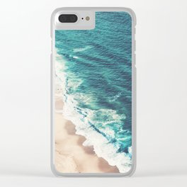 Beach Nazare Clear iPhone Case
