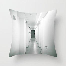 corridor... Throw Pillow