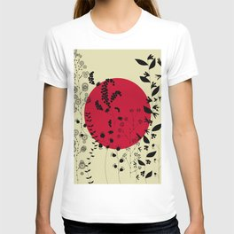 RED BLOSSOM T-shirt
