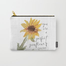 you perfect sunflower Carry-All Pouch
