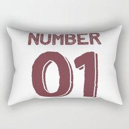 Number one. Rectangular Pillow