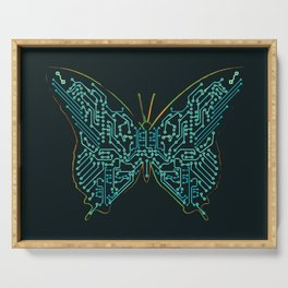 Mechanical Butterfly Serving Tray