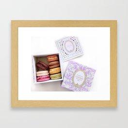 laduree macaron Framed Art Print