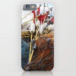 Fischernetz iPhone Case