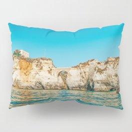 Rocks, Cliffs And Ocean Landscape At Lagos Bay Coast, Wall Art Print, Landscape Art, Poster Decor Pillow Sham