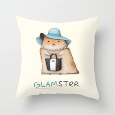 Glamster Throw Pillow