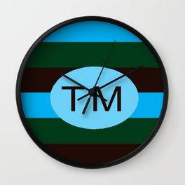 bbnyc trade marked stripes Wall Clock