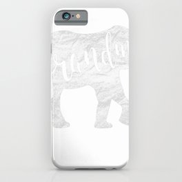 Grandma Elephant - Funny Mothers Day Gift Ideas For Best Mom iPhone Case