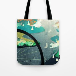 Green Commute Tote Bag