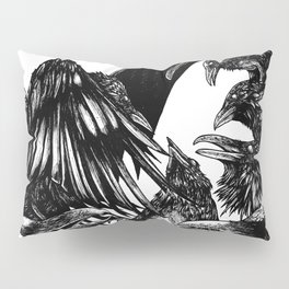The Riot : Crows Pillow Sham