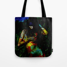 Near the Abyss Tote Bag