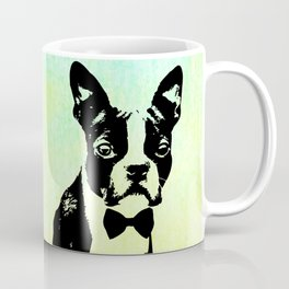 Boston Terrier in a Bow Tie Coffee Mug