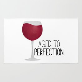 Aged To Perfection - Wine Rug