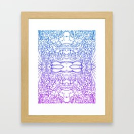 The Hoax Framed Art Print