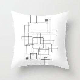 geometric i Throw Pillow
