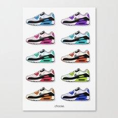 Choose. Canvas Print