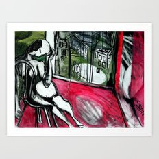 In the Spotlight Art Print