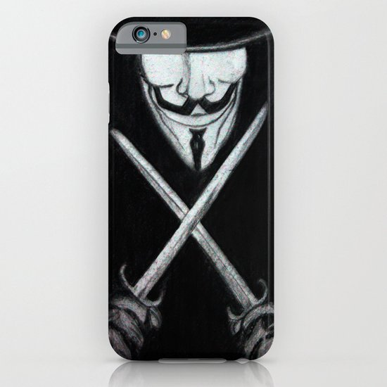 V for Vendetta  (by Esin )5 iPhone & iPod Case