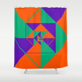 SquaRial Shower Curtain