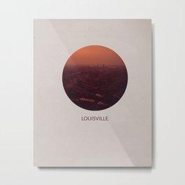 LOUISVILLE Metal Print