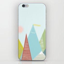 Mountain Peaks! iPhone Skin