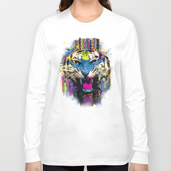 Inked Tiger Long Sleeve T-shirt