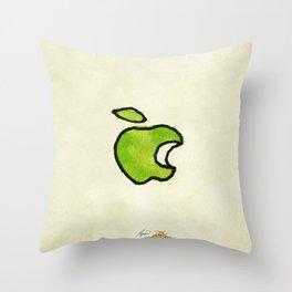 Apple II Throw Pillow